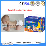 Fabricante 100% descartável de Quanzhou dos tecidos do bebê do algodão
