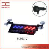 빨간 파란 차량 LED 경고 챙 빛 (SL661-V 브롬)