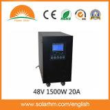 (T-48152) инвертор & регулятор PV волны синуса 48V1500W20A