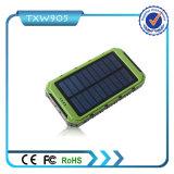 2016 caricatore solare portatile della Banca 10000mAh di energia solare di alta qualità per tutti i generi di telefono mobile