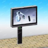 広告のためのカスタマイズされた側面の掲示板の中国の二重製造者の屋外のLED表示掲示板
