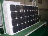 Haut panneau solaire monocristallin de la performance 130W avec TUV, OIN, CE