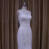 特別なデザイン白くセクシーな人魚のウェディングドレス