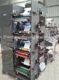 Cor Flexographic da máquina de impressão 4 que corta e que corta