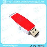 Multi colore che fa scorrere il bastone del USB della plastica 8GB con il marchio (ZYF1844)