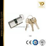 문 기계설비 키 (C02)를 가진 금관 악기 자물쇠 바디 실린더