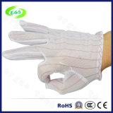 Перчатки перста ESD полиэфира, противостатические перчатки (EGS-23)