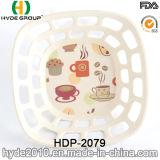 Biodegradierbarer Bambusfaser-Korb für Obst und Gemüse (HDP-2079)