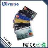 Привод вспышки USB кредитной карточки изготовленный на заказ цены по прейскуранту завода-изготовителя выдвиженческий супер тонкий