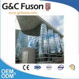 Fabricación e ingeniería innovadoras - pared del diseño de cortina de aluminio