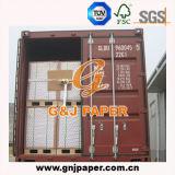 Double papier enduit latéral blanc élevé en emballage de feuille