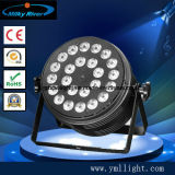 多色刷りの高い発電LEDの同価ライト/24PCS LED結婚式の洗浄ライトをつける24PCS 4in1 5in1 6in1 LEDの同価