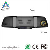 Pantalla de 7 pulgadas IPS cámara de la rociada 1080P espejo retrovisor del coche de HD completa