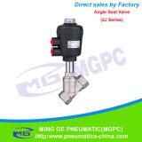 Клапан места угла (2J серия DN25 с пластичным головным приводом)