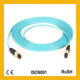 競争24cores Multi Mode MTP/MPO Om3/Om4 Fiber Optic Patch Cord