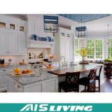 現代様式によってカスタマイズされるMDFの光沢度の高い食器棚の家具(AIS-K133)