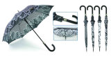 Parapluie automatique droit de conception de Black&White (YS-SA23083916R)