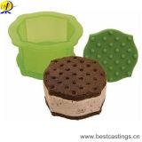ホームDIYのための熱い販売動物のプラスチックケーキ型
