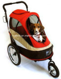 Pet Carrier Cage Home Cart Poussette Pet Trolley