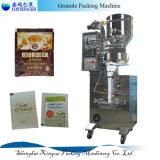Empaquetadora de tres caras para el gránulo/el polvo/el líquido