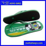 人のためのAngalaのフラグプリント高品質のPEのサンダルの靴