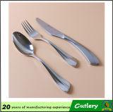 Ensemble de couverts, cuillère et ensemble de fourchette, couverts d'acier inoxydable