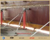 Macchinario edile longitudinale di sollevamento idraulico del serbatoio del sistema