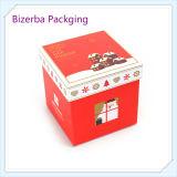 Chrismtasのギフトのボール紙のペーパー包装ボックス、中国の製造者