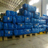 La poly bâche de protection tissée Rolls imperméabilisent le roulis bleu personnalisé de PE de bâche de protection de Tarps de PE