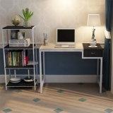 Biblioteca popular de escritório do metal e da madeira de 4 séries (WS16-0023, para a mobília home)