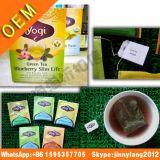 Верхнего качества Yogi жизнь голубики зеленого чая бывш тонкая