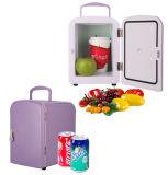 Mini frigorifero elettronico 4liter DC12V, AC100-240V sia nel raffreddamento che nel riscaldamento per l'automobile o la casa, uso dell'ufficio