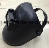 Las marcas de fábrica más inferiores del casco con las lentes, máscara simple azul de la soldadura, máscara material de los PP, máscaras mayores de la soldadura de la soldadura de la lente de la soldadura del nivel del Shading