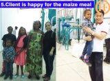 Zâmbia do moinho de rolo do milho 50t