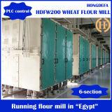 Máquina de fresar de farinha de trigo 200t / 24h para fazer farinha de sêmola de macarrão
