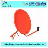 Спутниковое телевидение Receiver тарелки антенны Ku Band Outdoor 60cm