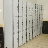 Armario fenólico sólido de la escuela de 12 puertas con el bloqueo de pista