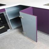 N & L mobilia della cucina verniciata piano viola (kc1080)