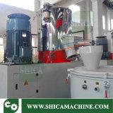 Mezclador de alta velocidad compuesto del PVC con el mezclador caliente y frío