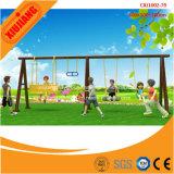 Качание напольных малышей оборудования спортивной площадки парка атракционов пластичное