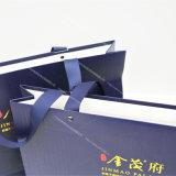 2016 a personnalisé le sac de papier de cadeau à extrémité élevé