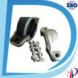 Acoplamentos da braçadeira do acoplamento Dn40 do tamanho 48.3mm da tubulação de Victaulic para os encaixes de tubulação