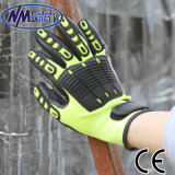 Nmsafety TPR на Вернуться Анти среду Mechanic рабочих перчаток