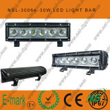 Vente chaude ! ! 10inch DEL hors de Road Light Bar, 12V C.C 6PCS*5W DEL hors de Road Light Bar