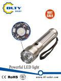 再充電可能な力太陽LEDの懐中電燈のトーチ