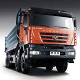 Tipper de Kingkan 8X4/caminhão quentes anúncio publicitário da descarga