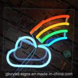 Diodo emissor de luz que anuncia a luz de néon de sinal de néon