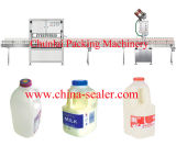 Lineare Flaschen-Milch-füllende Zeile