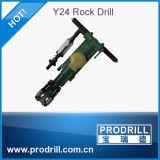 Y6, Y8, Y10, Y20, Y24, Y26, Y28, foret de roche pneumatique tenu dans la main de Ty24c