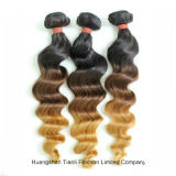 "30 "" 인간적인 Virgin Hair Extension Ombre 3tone Straight Hair"